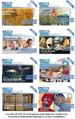 Les unes de LPC, la revue