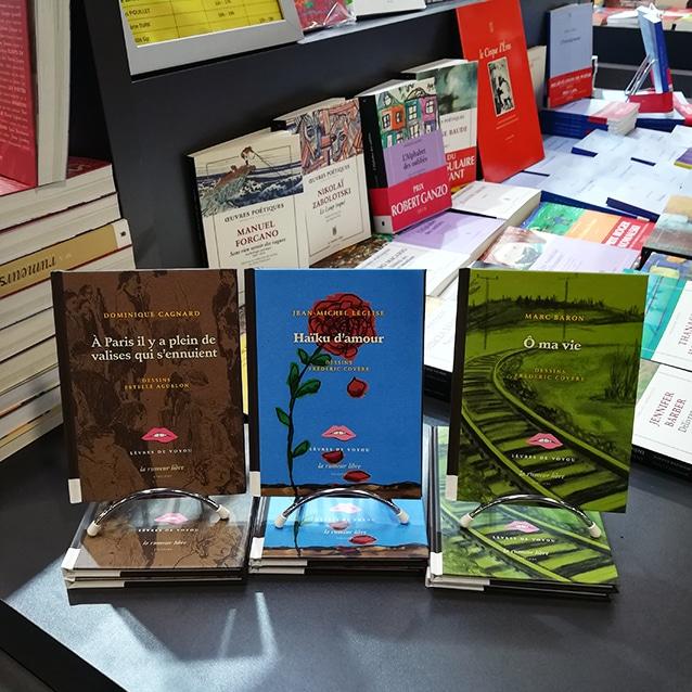 Collection Lèvres de Voyou dans laquelle le recueil « Haïku d'amour » a été publié en septembre 2018.