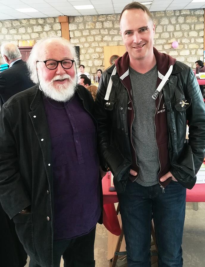 Rencontre avec Bernard Prou au Salon des auteurs indépendants à Maisons-Alfort le 13 avril 2019.